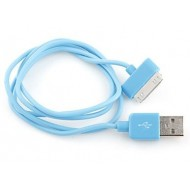 CABLE USB BLEU SYNCHRONISATION POUR IPHONE & IPAD