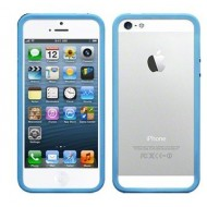 POUR IPHONE 5 : BUMPER TURQUOISE