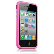POUR IPHONE 4/4S : BUMPER ROSE