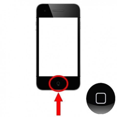 IPHONE 5 : REMPLACEMENT BOUTON HOME ROND CENTRAL