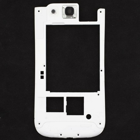 Chassis arriere blanc Samsung Galaxy S 3
