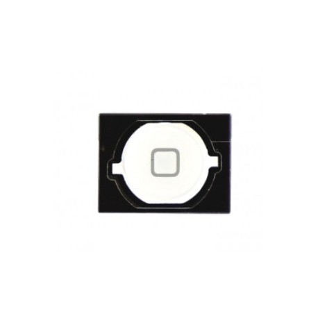 POUR IPHONE 4S : BOUTON HOME BLANC AVEC SPACER ADHESIF