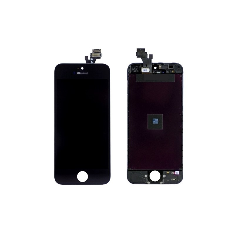 Pour iphone 5s vitre ecran lcd pour iphone 5s noir a for Ecran photo noir iphone 5