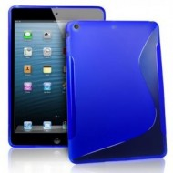 iPad Air : Etui gel bleu type S-Toulouse