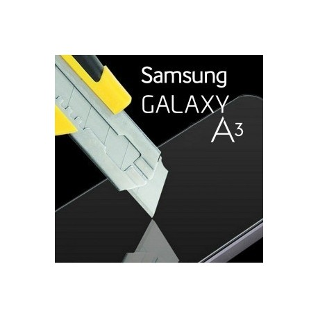 Galaxy A3 SM-A300F : Verre trempé protection d'écran