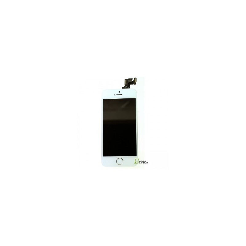 iphone 5s complet ecran blanc vitre lcd cam ra home. Black Bedroom Furniture Sets. Home Design Ideas