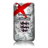 COQUE POUR IPHONE : ANGLETERRE V2 COUPE DU MONDE FOOT 2010