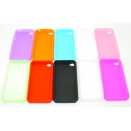 Coque pour iPhone 4 : Silicone - iCox Toulouse