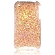 POUR IPHONE 3G 3GS : COQUE STRASS ORANGE