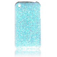 COQUE STRASS BLEUE POUR IPHONE