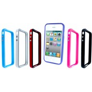 POUR IPHONE 4 : BUMPER LUXE