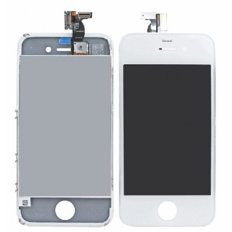 complet vitre ecran lcd pour iphone 4 blanc toulouse. Black Bedroom Furniture Sets. Home Design Ideas