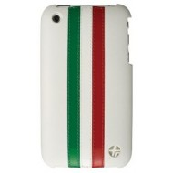 Pour iPhone 3G / 3GS : Coque Trexta blanche Italie