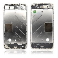 POUR IPHONE 4 : CHASSIS METAL CHROME