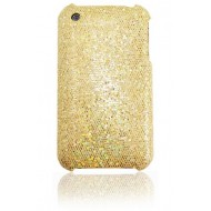 COQUE STRASS POUR IPHONE : OR