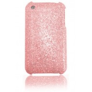 COQUE STRASS POUR IPHONE : ROSE